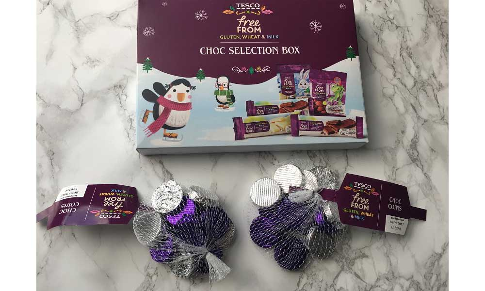 Tesco Launches Vegan Friendly Christmas Chocolate Options