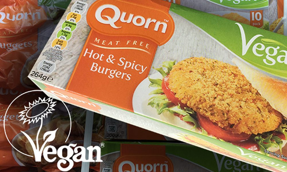 Quorn products officially registered as vegan