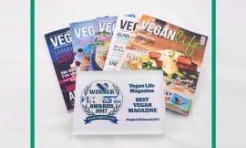 Best Vegan Magazine title awarded to Vegan Life Magazine