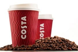 Costa Announce Plans to Recycle Half a Billion Disposable Cups