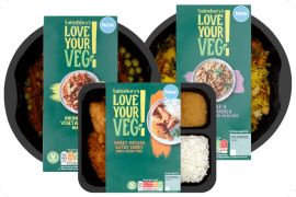 Sainsbury's Add Over 20 New Vegan Items to Stores