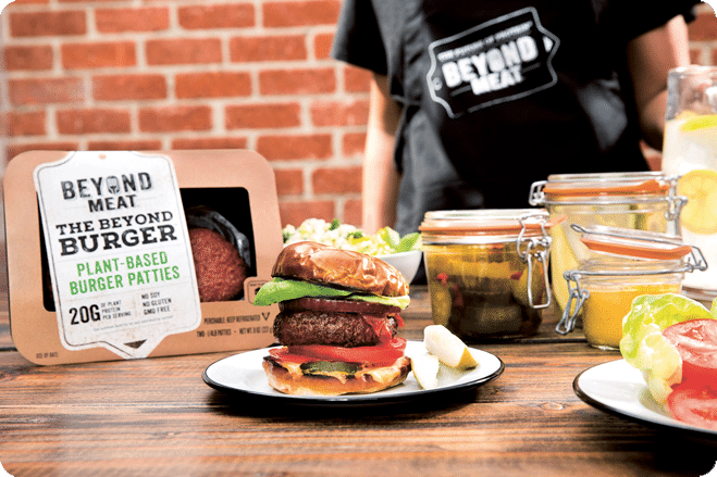 The Beyond Burger Will Soon Be Introduced To 350 Stores Around The UK