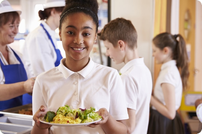 'School Plates' Campaign Will Help To Increase Plant-Based Meals In Schools