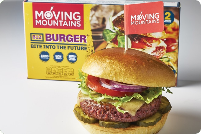 Pub Chain Marston's Become the First Pub to Serve Moving Mountains Burger