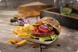 Vivera Launch Plant-Based Quarter Pounder