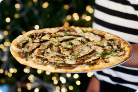 PizzaExpress Launches Vegan Christmas Dishes