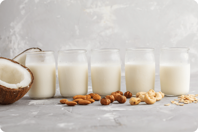 SPOTLIGHT ON: PLANT MILKS