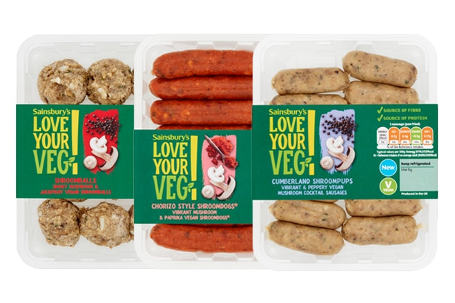 Sainsbury's add plant-based products to meat aisles