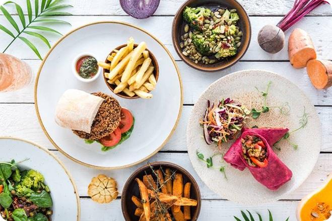 Vintage Inns launch new additions vegan menu