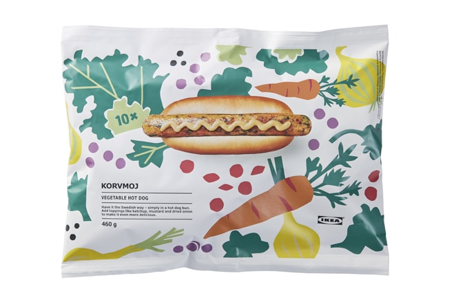 IKEA to sell vegan hot dogs in packs to consumers