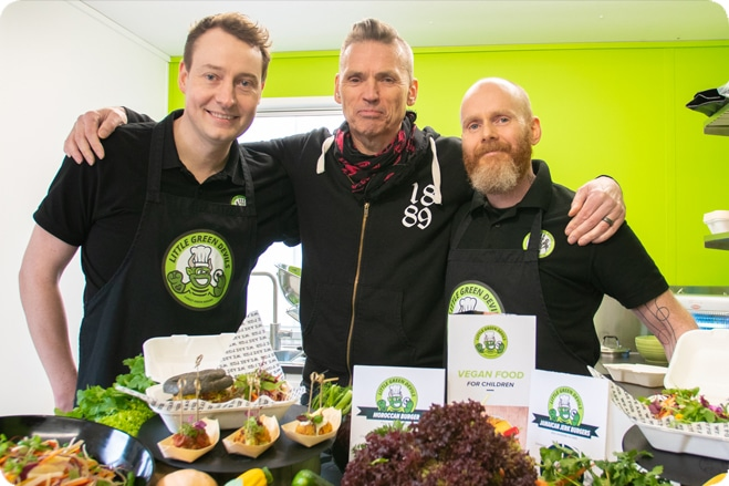 New Devil's Kitchen creates vegan food for UK schools