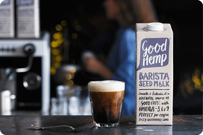 good hemp New Barista Milk