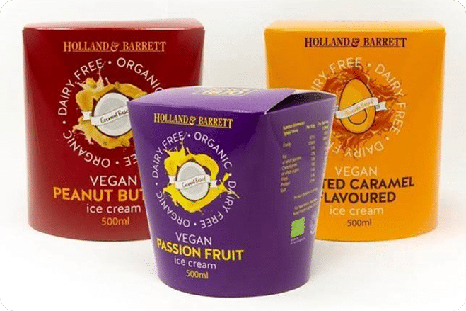 Holland and Barrett launch vegan-friendly ice cream