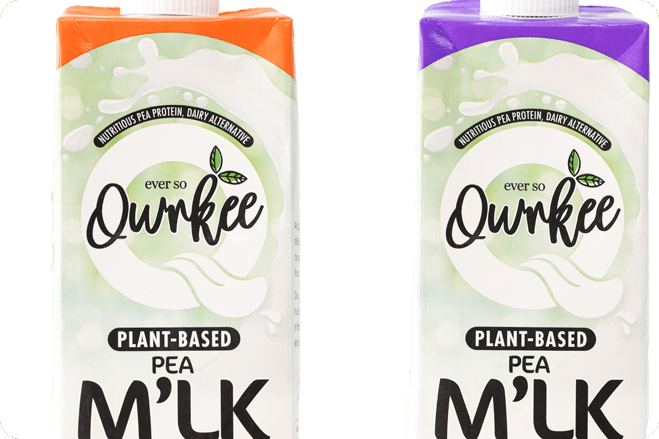 The next big thing – Plant-Based M'lks made from Peas.