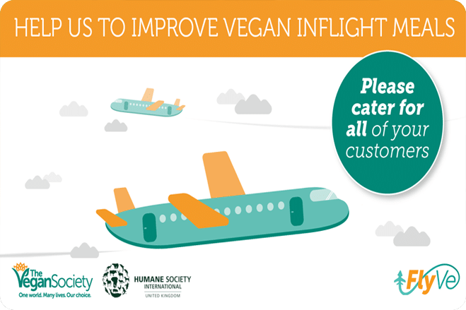 New Website Urges Airlines to Provide More Vegan Options