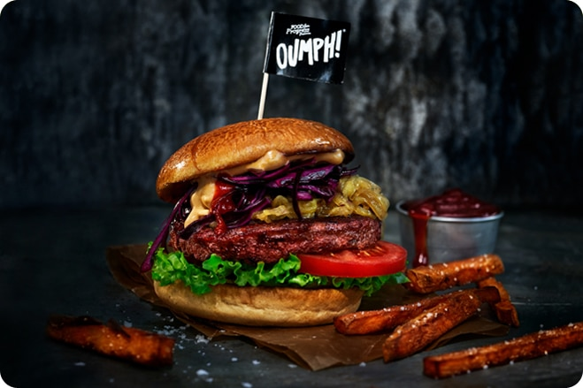 Popular Meat Substitute Brand Launch New Burger
