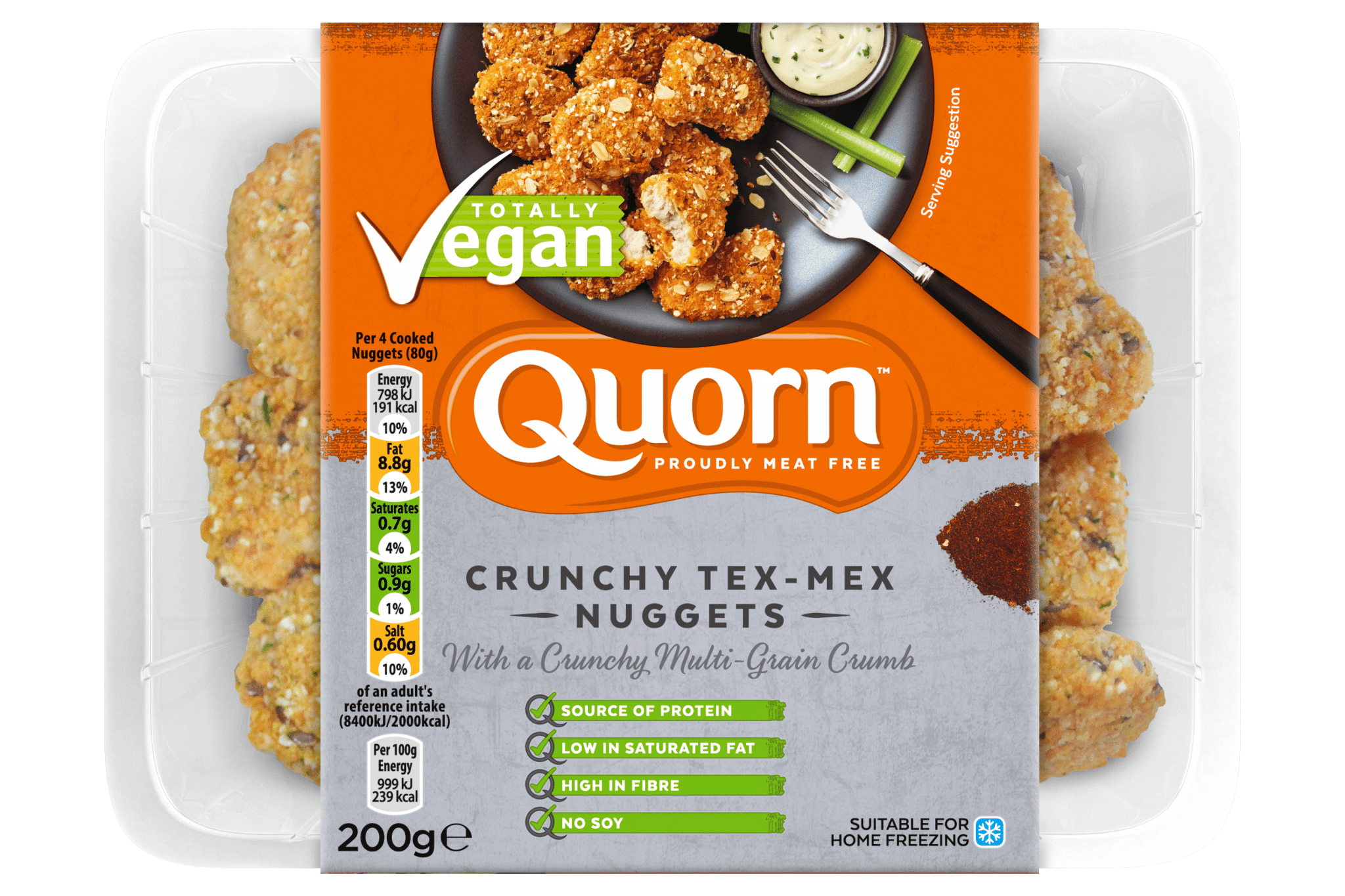 Quorn tex-mex nuggets