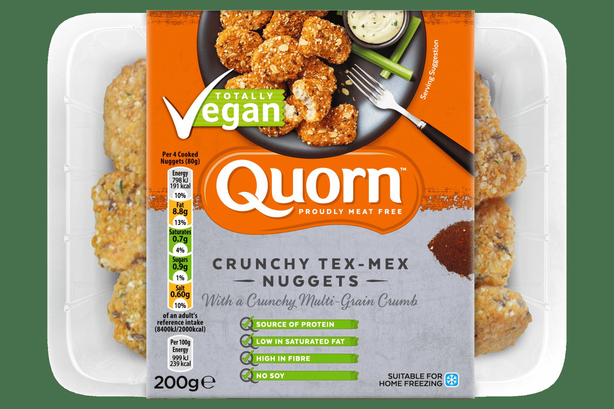 Quorn tex-mex nuggets