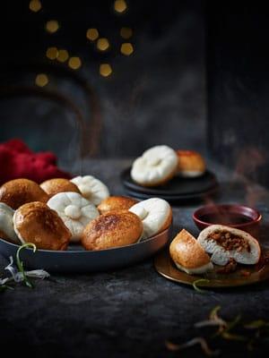 Mushroom Bao Buns