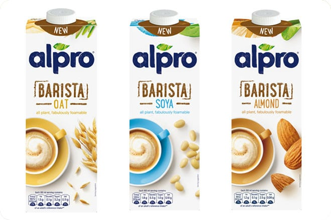 Dairy-Free Milk Brand Reveals New Branding