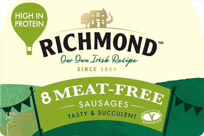 Irish Sausage Manufacturers Launch Meat-Free Alternative