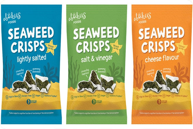 Healthy Snack Company Launches Seaweed Crisps