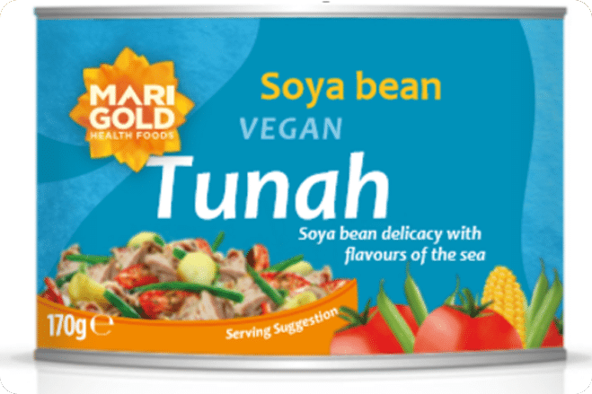 Marigold Health Foods Launches Vegan Tuna