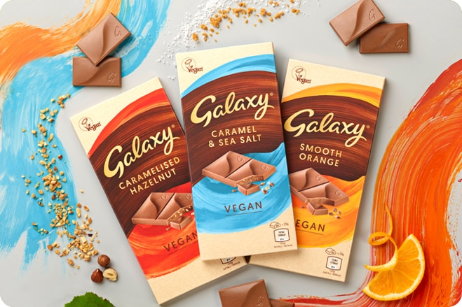 Confectionery Giants Launch New Vegan Chocolate Bar