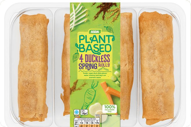 Asda Launches First Plant-Based Range
