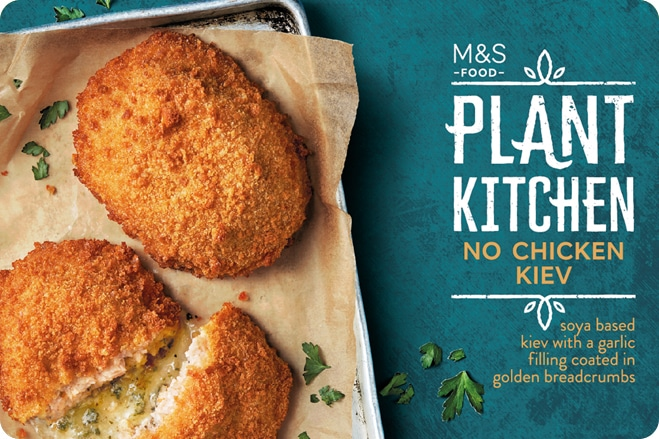More Plant-Based Products Hit the Shelves of Marks & Spencer