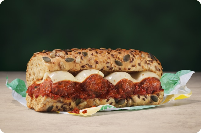 Popular Sandwich Chain Launch Meatless Meatball Marinara