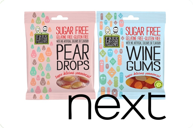 Free From Fellows launch vegan sweets into Next