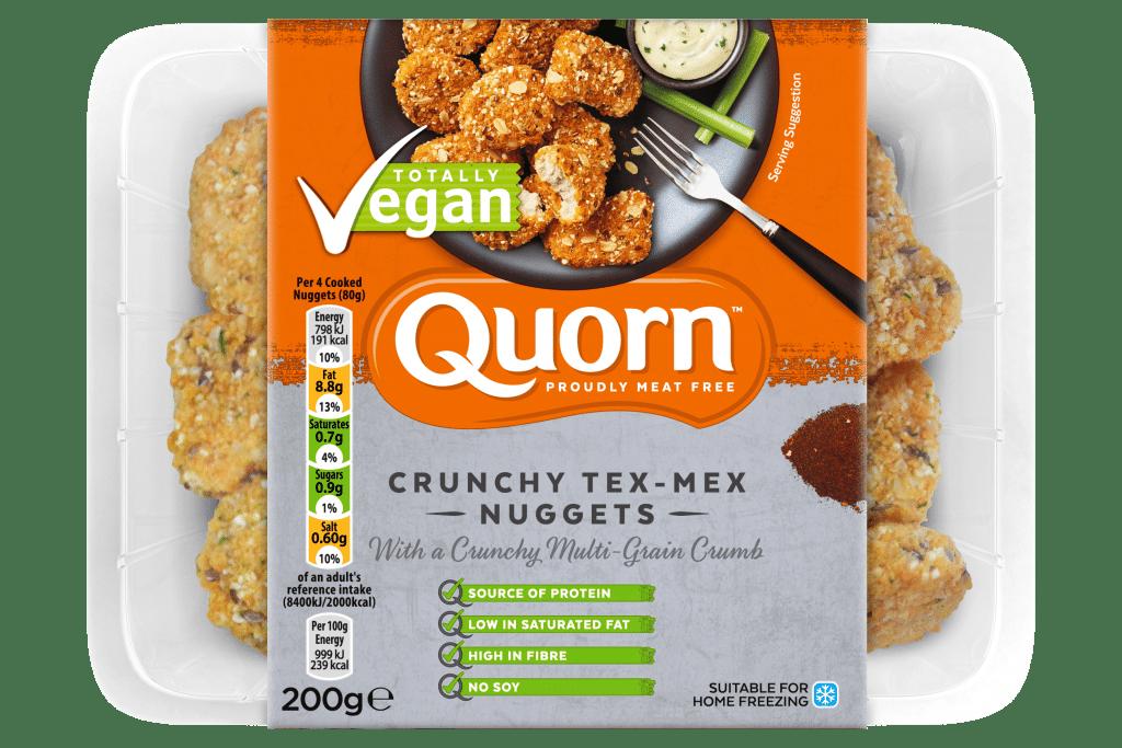 Quorn Vegan Expansion