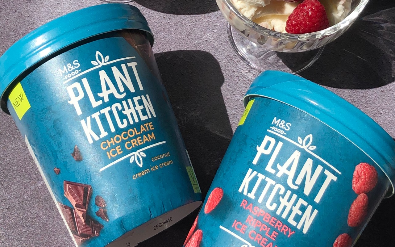 M&S adds two new Plant Kitchen ice creams