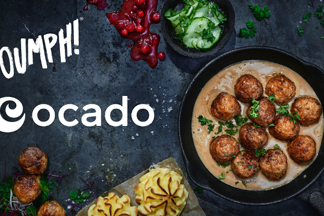 Oumph! Balls are rolling into Ocado