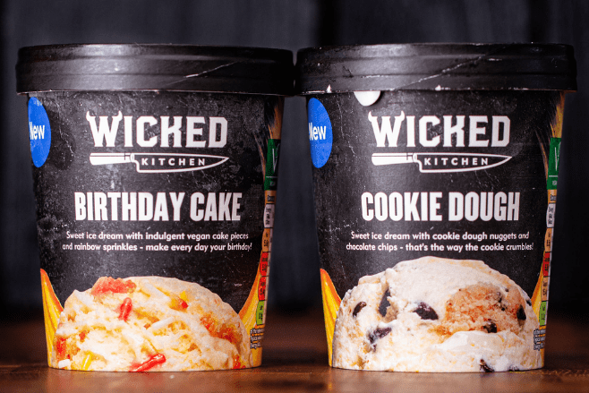 Tesco expands its Wicked Kitchen vegan ice cream range with A freezer full of new flavours