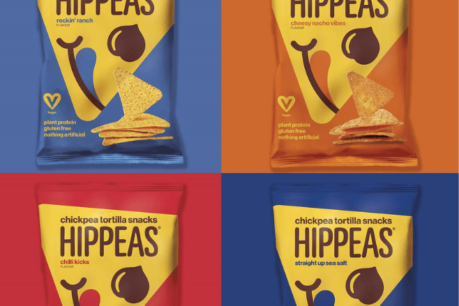 HIPPEAS® introduces the UK's first vegan chickpea tortilla's