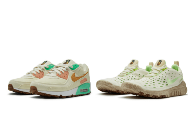 Now on sale - Nike trainers made from vegan pineapple leather
