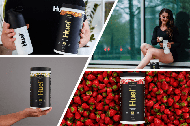 Just launched – the world's first nutritionally complete vegan protein powder, Huel Complete Protein