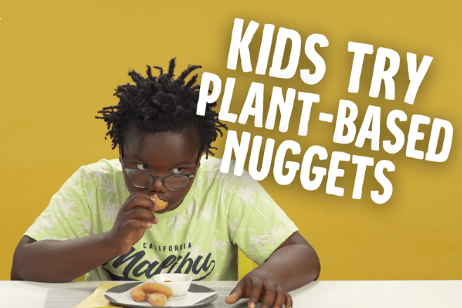 Heura create new vegan nuggets with children in mind