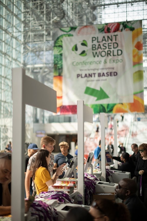 plant-based trade event